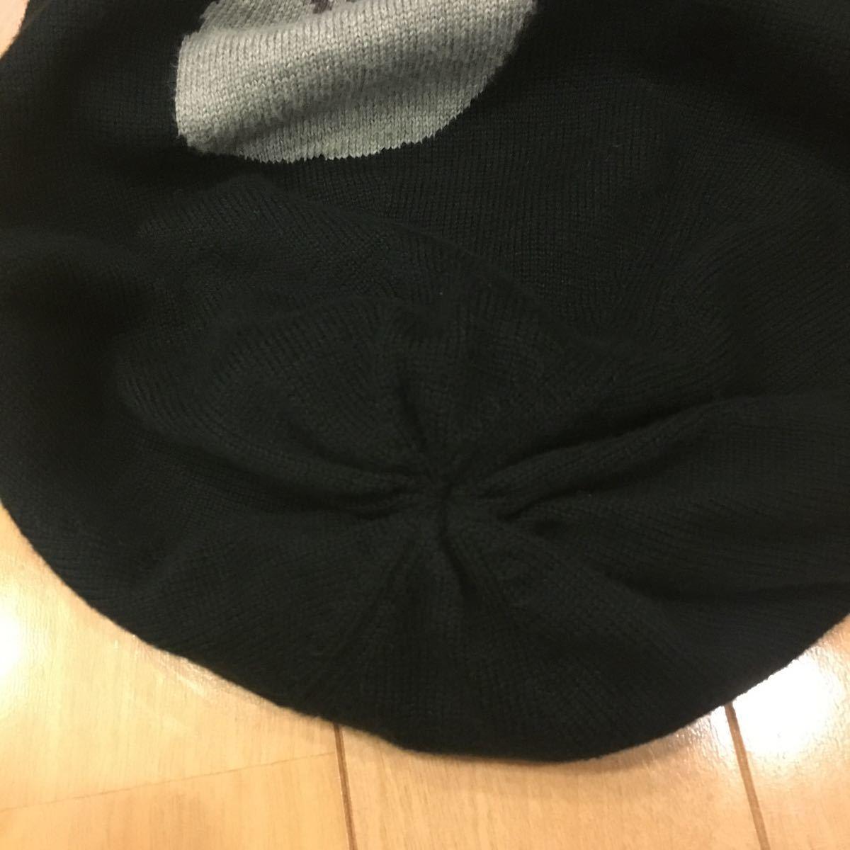 新品未使用タグ付き 13SS mastermind JAPAN DAMAGE KNIT CAP 黒 M マスターマインド ニットキャップ ニット帽 ビーニー_画像7