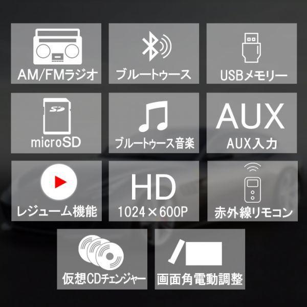 CD,DVD,USB,SDブルートゥース内蔵