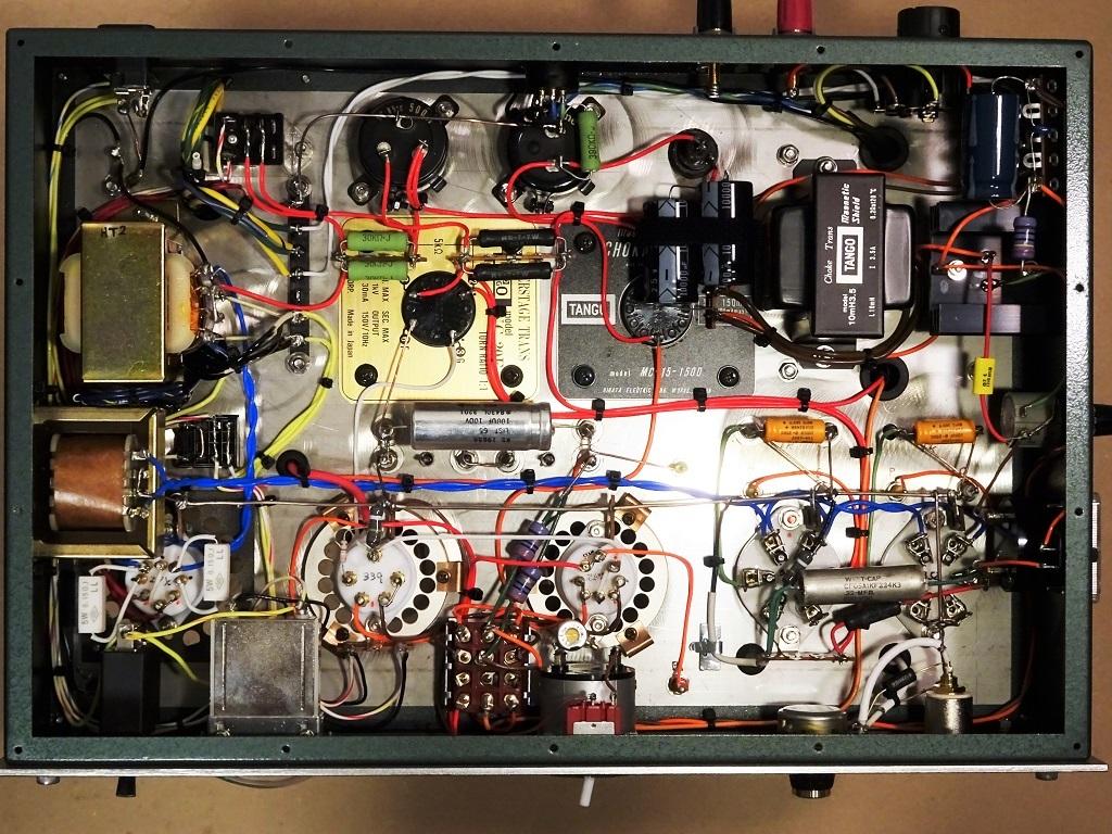 美品【マニア必見】300B(WE252A、AT20、同等管も可)/WE339A コンパチブル・シングル・モノラル・パワーアンプ 2台 ☆ 出力管以外は付属_画像6
