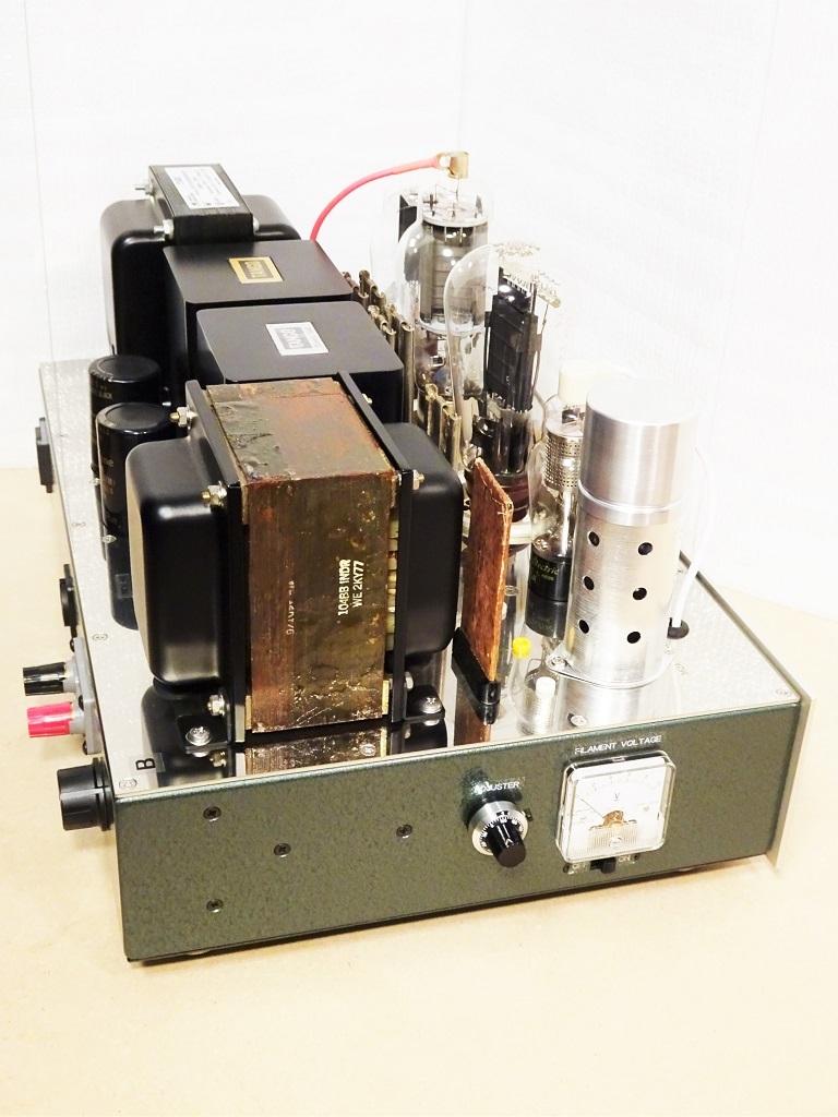 美品【マニア必見】300B(WE252A、AT20、同等管も可)/WE339A コンパチブル・シングル・モノラル・パワーアンプ 2台 ☆ 出力管以外は付属_画像5