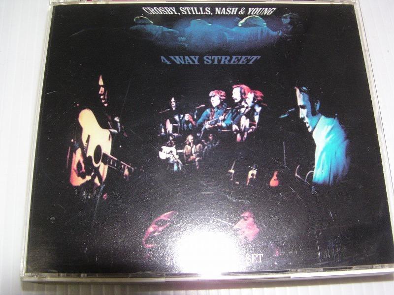 ★名盤!クロスビー・スティルス・ナッシュ&ヤング/4ウェイ・ストリート国内盤2枚組CD中古品_画像1