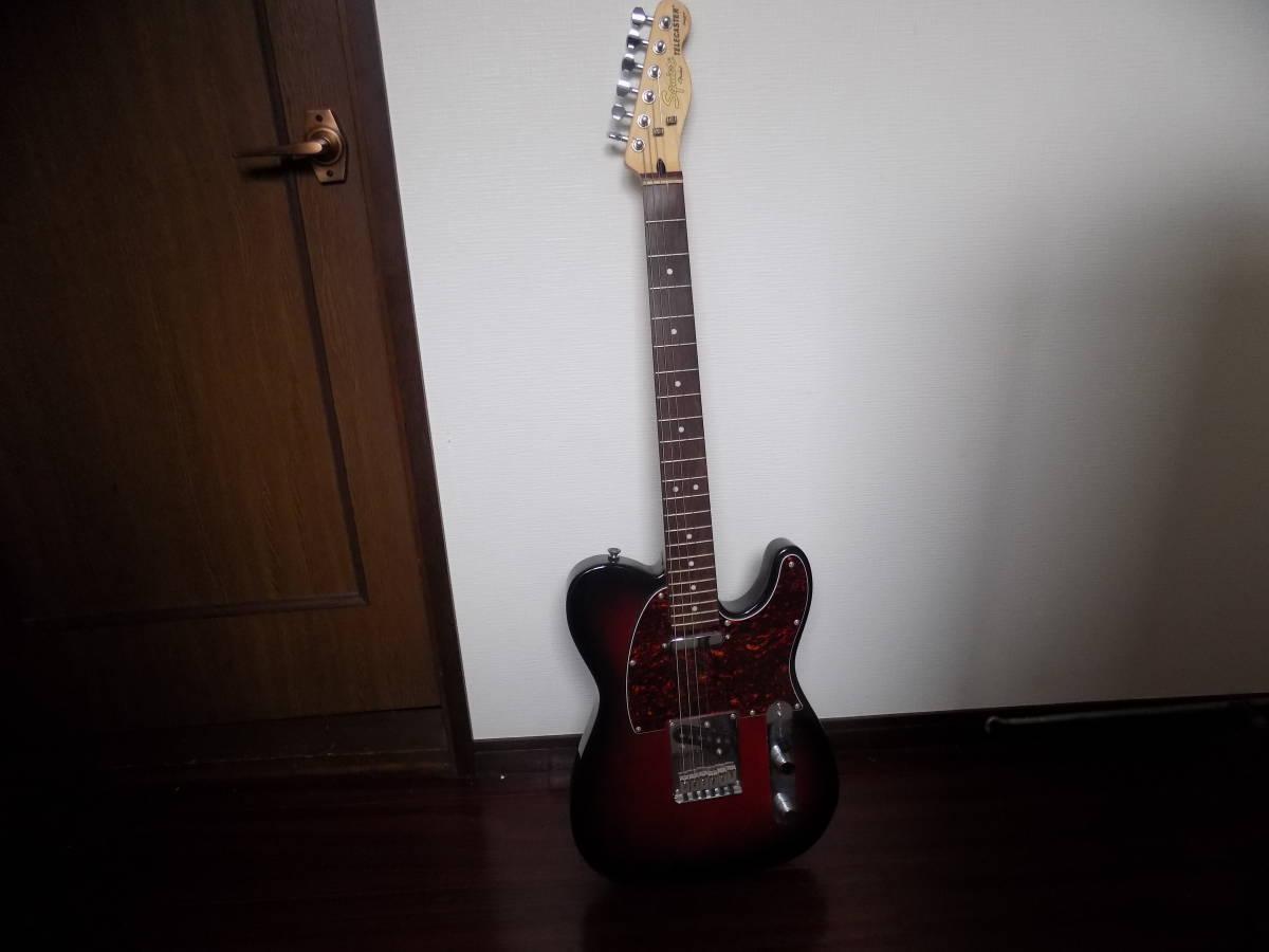 ☆\1円~♪ Squier Telecaster by Fender エレキギター中古現状品☆ _画像4
