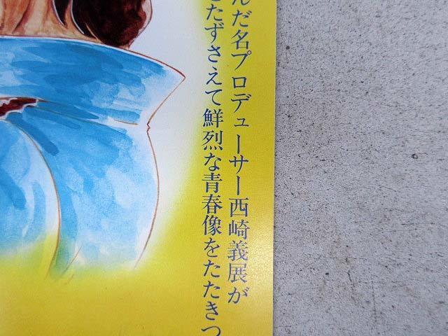 メガレア 未制作チラシ・フライヤー 製作:西崎義展 原作:大藪春彦 「汚れた英雄」 (実写で製作予定)_画像5