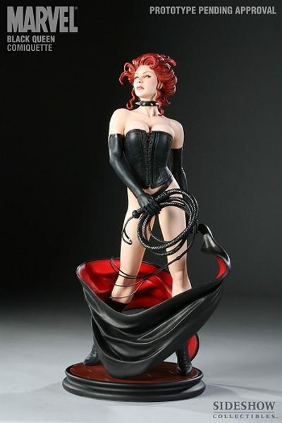 サイドショウ マーベル ブラッククイーン コミケット Sideshow Marvel Comiquette Black Queen