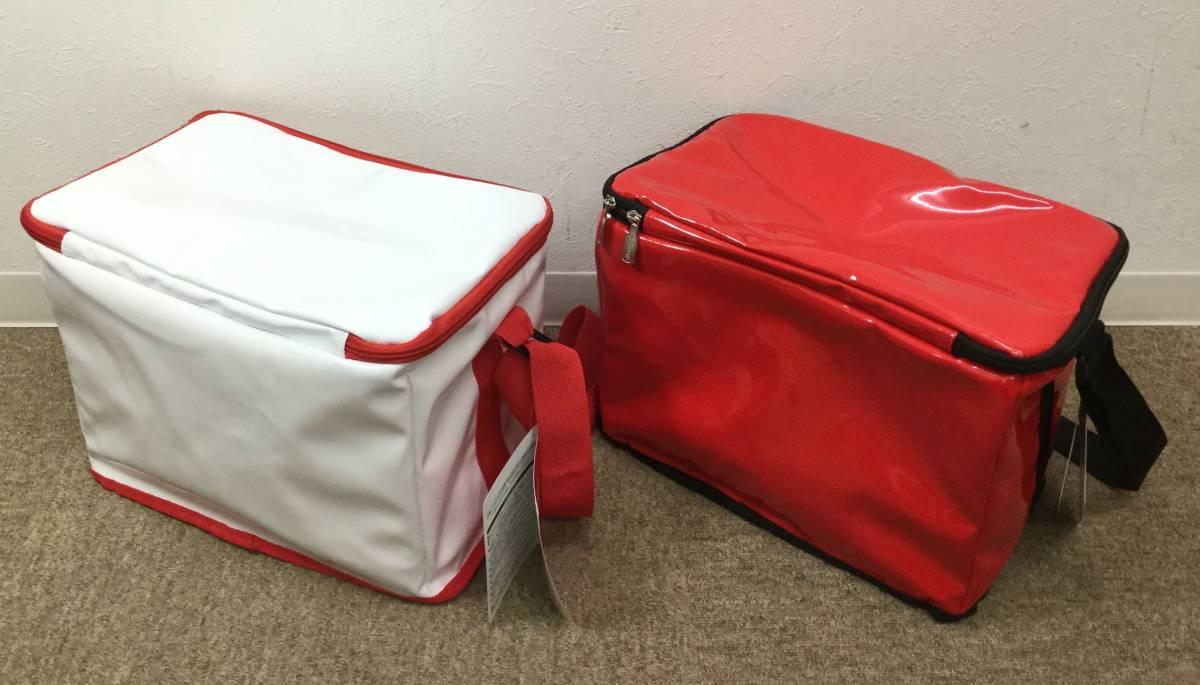 6634■3点セット 未使用 コカコーラ ビーチチェア Ver5 保冷バッグ/クーラー バッグ 赤/白 レッド/ホワイト 肩掛け ショルダー Coca-Cola_画像6