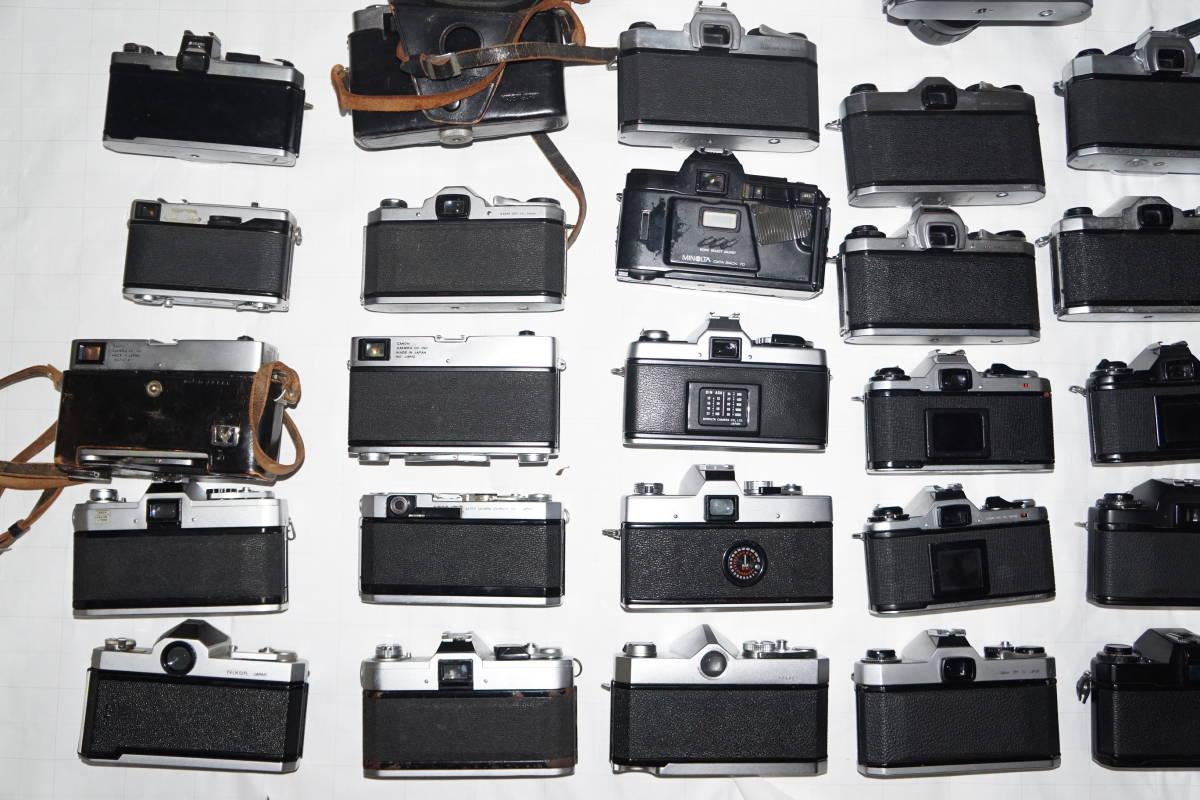 ジャンク ニコン キヤノン オリンパス ヤシカ ミノルタ ペンタックス他 フィルム一眼 レンジファインダー 8mm等 30台 まとめ 大量set #2326_画像9
