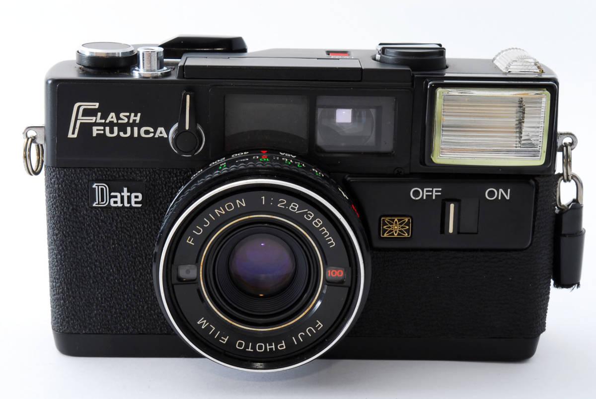 ★即決★価格交渉あり★フジカ Fujica Flash Fujica Date + FUJINON 38mm 2.8 コンパクトカメラ★昭和レトロ★ボディキャップ★#2395_画像3