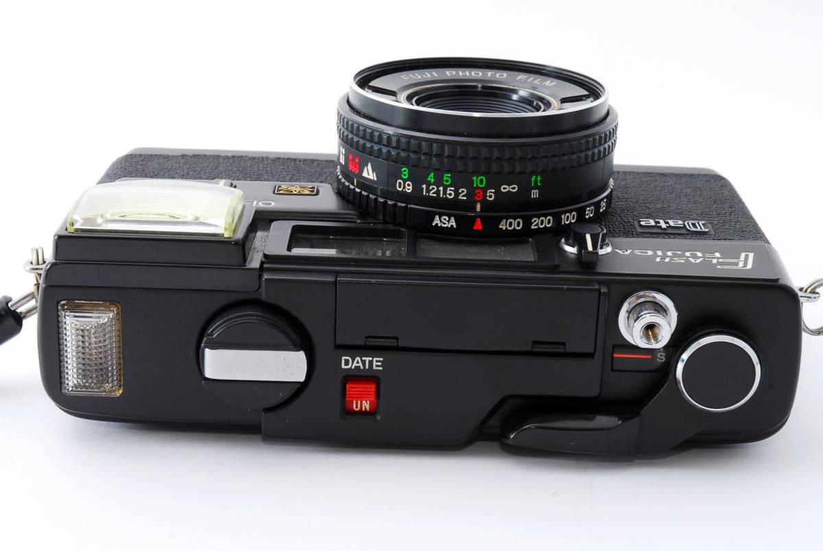 ★即決★価格交渉あり★フジカ Fujica Flash Fujica Date + FUJINON 38mm 2.8 コンパクトカメラ★昭和レトロ★ボディキャップ★#2395_画像5