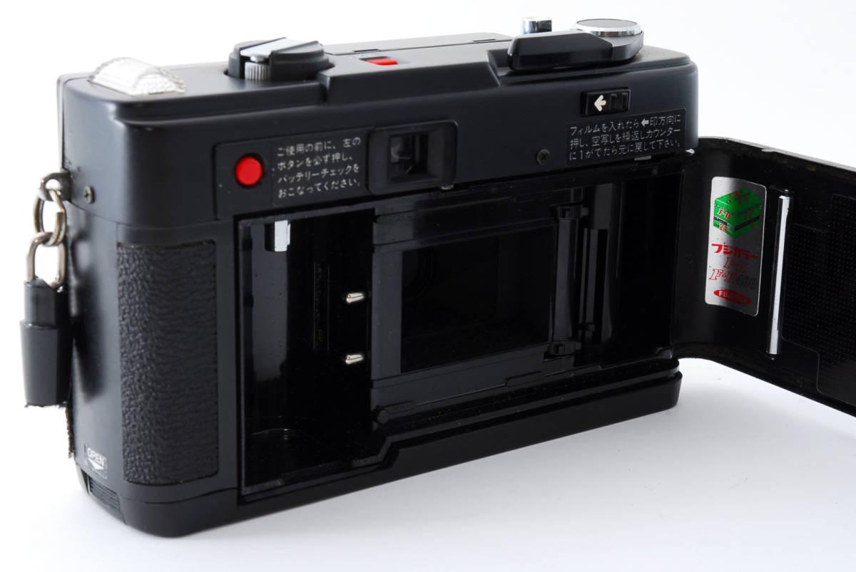 ★即決★価格交渉あり★フジカ Fujica Flash Fujica Date + FUJINON 38mm 2.8 コンパクトカメラ★昭和レトロ★ボディキャップ★#2395_画像8