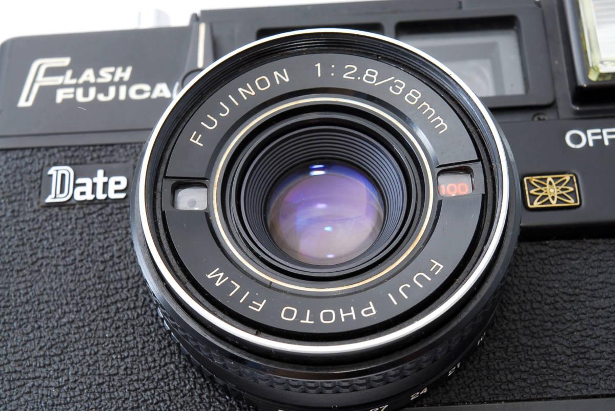 ★即決★価格交渉あり★フジカ Fujica Flash Fujica Date + FUJINON 38mm 2.8 コンパクトカメラ★昭和レトロ★ボディキャップ★#2395_画像10