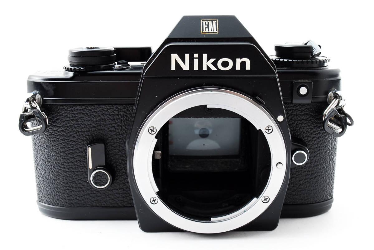 ★即決★値下げ交渉あり★ニコン Nikon EM Black MF 一眼レフカメラ ボディ★新品級★#2544_画像3