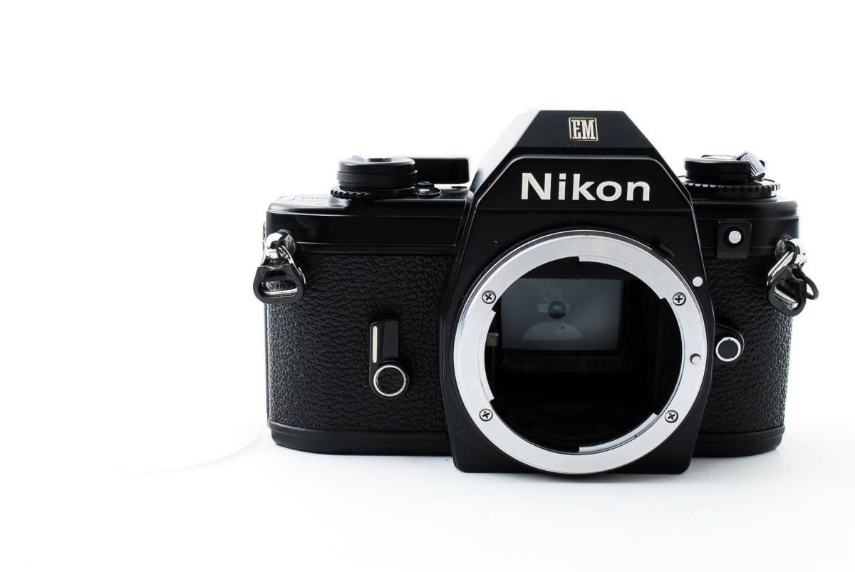★即決★値下げ交渉あり★ニコン Nikon EM Black MF 一眼レフカメラ ボディ★新品級★#2544