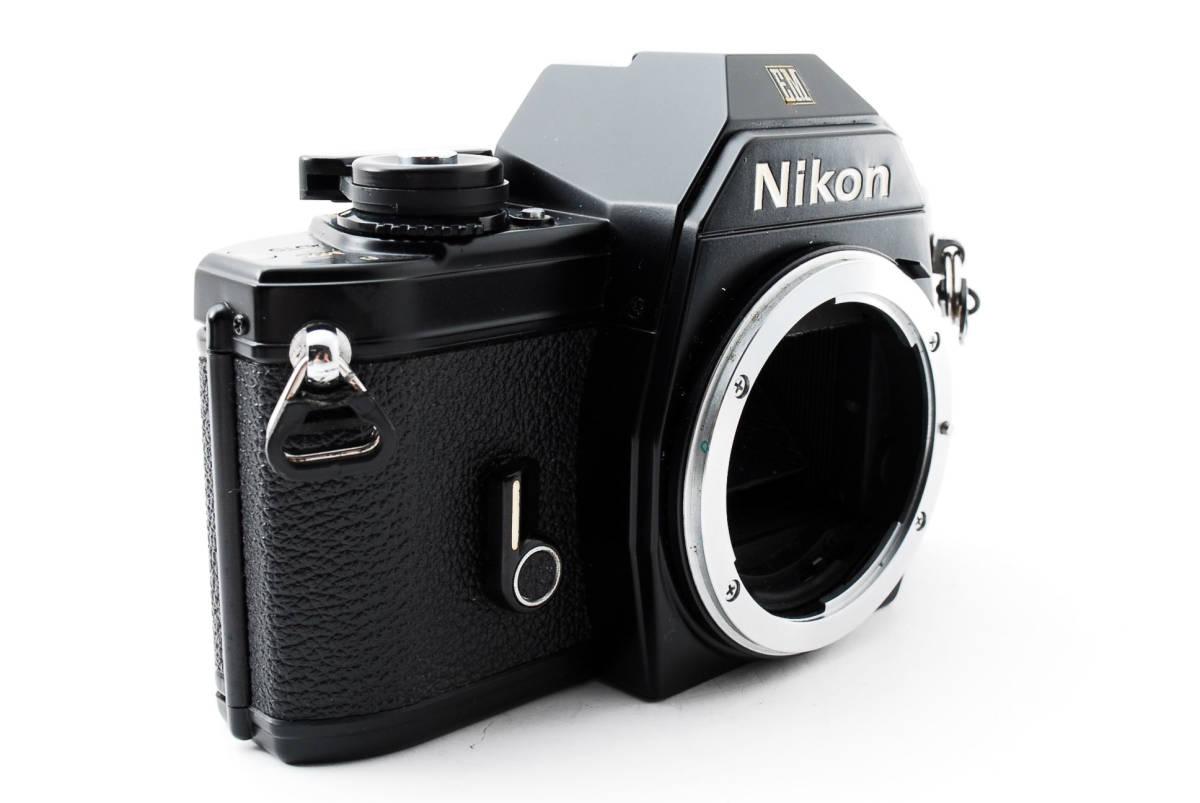 ★即決★値下げ交渉あり★ニコン Nikon EM Black MF 一眼レフカメラ ボディ★新品級★#2544_画像4
