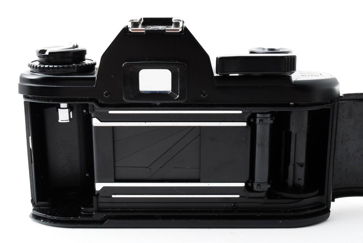 ★即決★値下げ交渉あり★ニコン Nikon EM Black MF 一眼レフカメラ ボディ★新品級★#2544_画像7