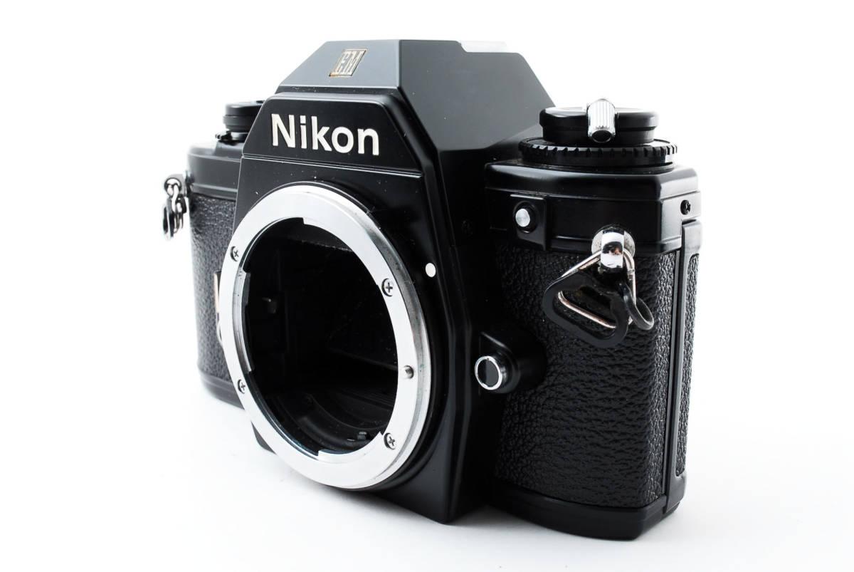 ★即決★値下げ交渉あり★ニコン Nikon EM Black MF 一眼レフカメラ ボディ★新品級★#2544_画像2