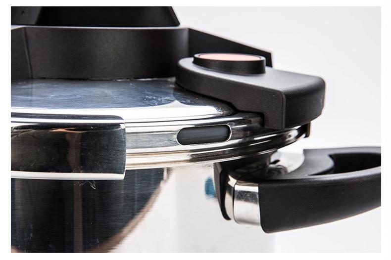 圧力鍋 ステンレス製 プレッシャークッカー 電気圧力鍋万能調理器 直径24cm 蒸し器付き 調理器具 家庭用_画像6