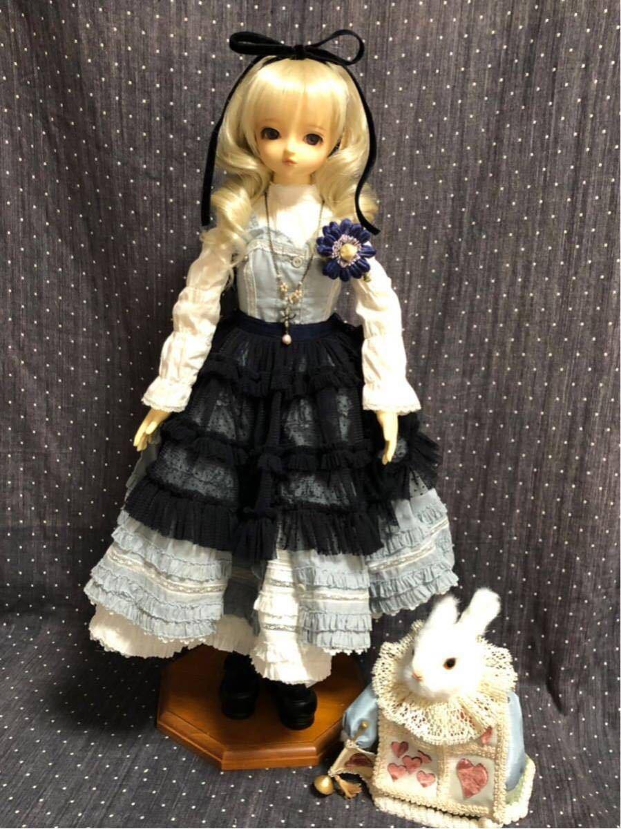 スーパードルフィー衣装 ☆不思議の国のアリスセット☆SD_画像3