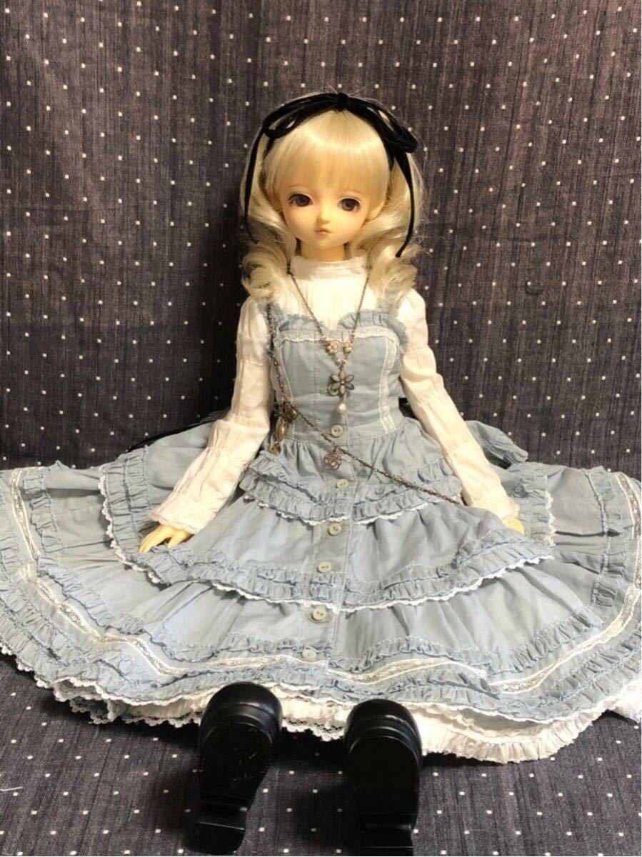 スーパードルフィー衣装 ☆不思議の国のアリスセット☆SD_画像4