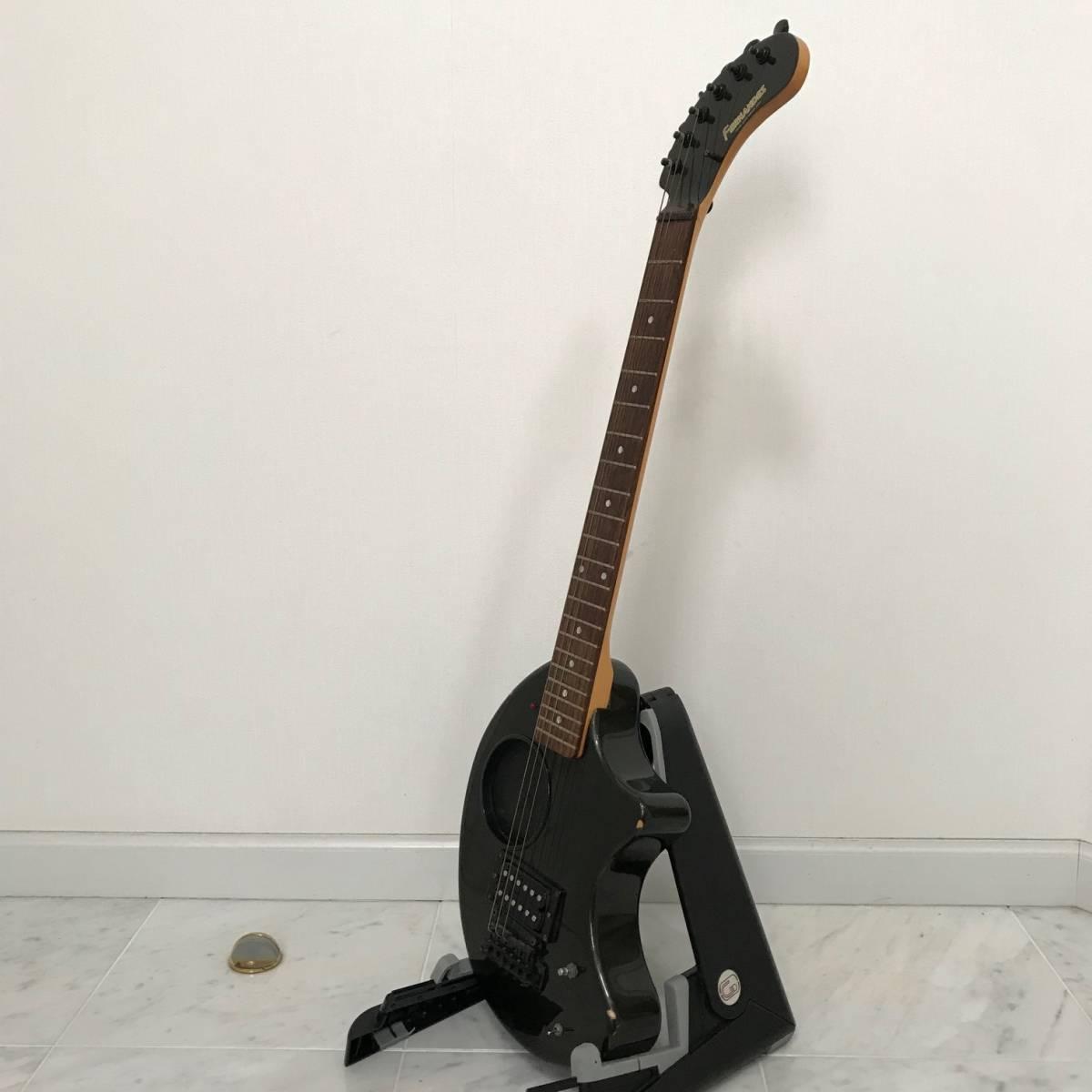 ZO-3 芸達者 ディストーション アンプ内臓 GOTOHペグ ギター ブラックメタリック ジャンク FERNANDES_画像5