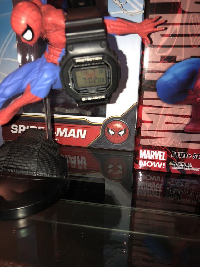 送料無料 スパイダーマン ホームカミング フィギュア他 おまけスパイダーマンG-SHOCK コトブキヤ等 セット_画像3