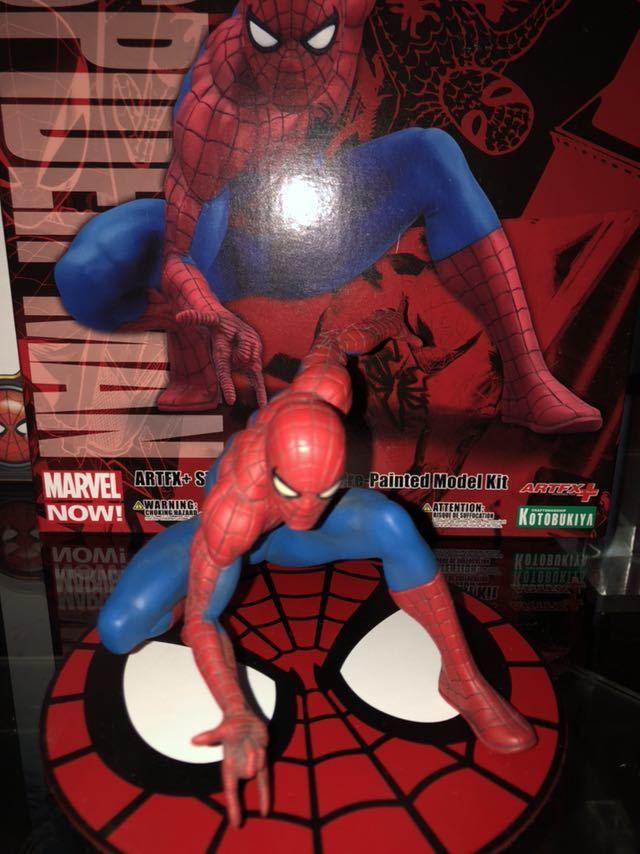送料無料 スパイダーマン ホームカミング フィギュア他 おまけスパイダーマンG-SHOCK コトブキヤ等 セット_画像2