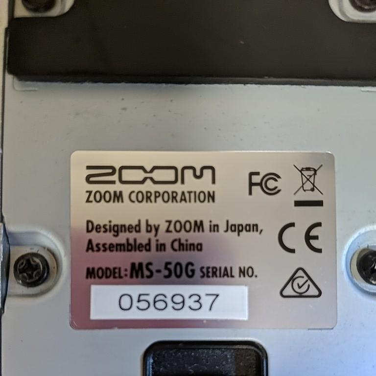 ズーム ZOOM マルチストンプ MS-50G_画像4