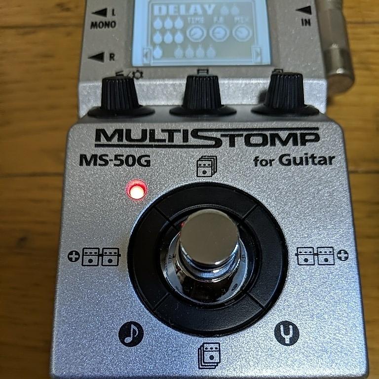 ズーム ZOOM マルチストンプ MS-50G_画像8