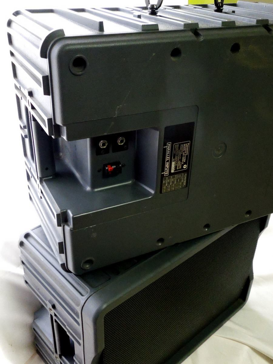 [中古]RAMSA/Panasonic WS-A500 業務用スピーカー 2本ペア_画像2