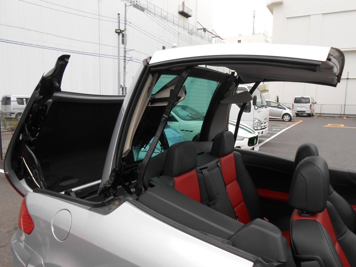 車検満タン令和3年6月 プジョー 307CC プレミアム 法令点検24か月済 オープンカー ボタンで自動開閉 ナビ ETC マルチインフォメーション_画像2