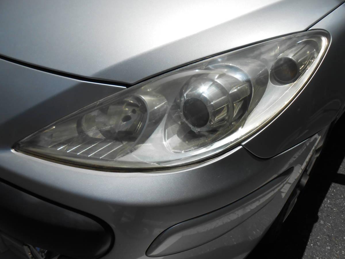 車検満タン令和3年6月 プジョー 307CC プレミアム 法令点検24か月済 オープンカー ボタンで自動開閉 ナビ ETC マルチインフォメーション_画像8