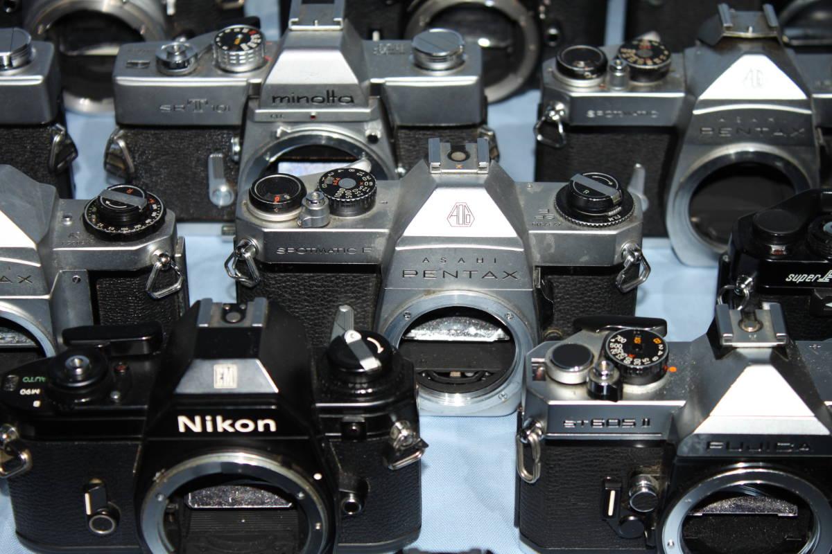 #F 動作未確認 一眼レフカメラなど ■Ricoh・Canon・Konica・Minolta など20台以上■JUNK 現状出品_画像6