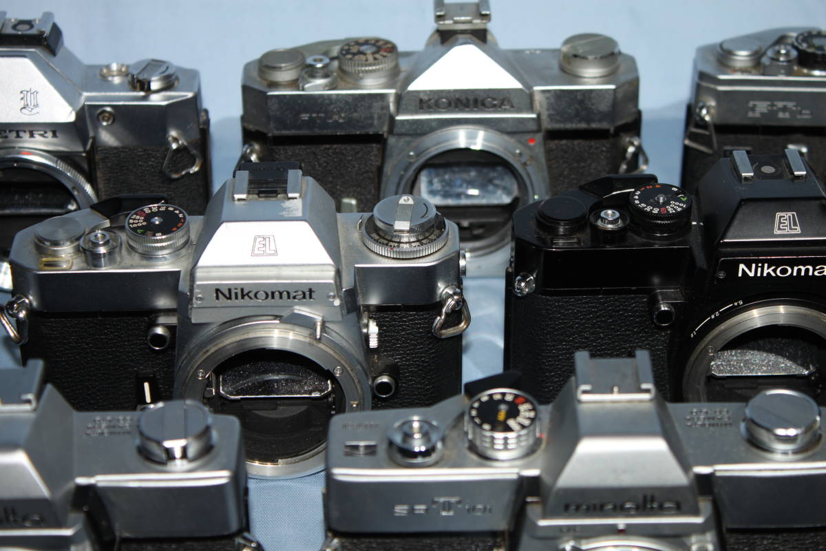 #F 動作未確認 一眼レフカメラなど ■Ricoh・Canon・Konica・Minolta など20台以上■JUNK 現状出品_画像3