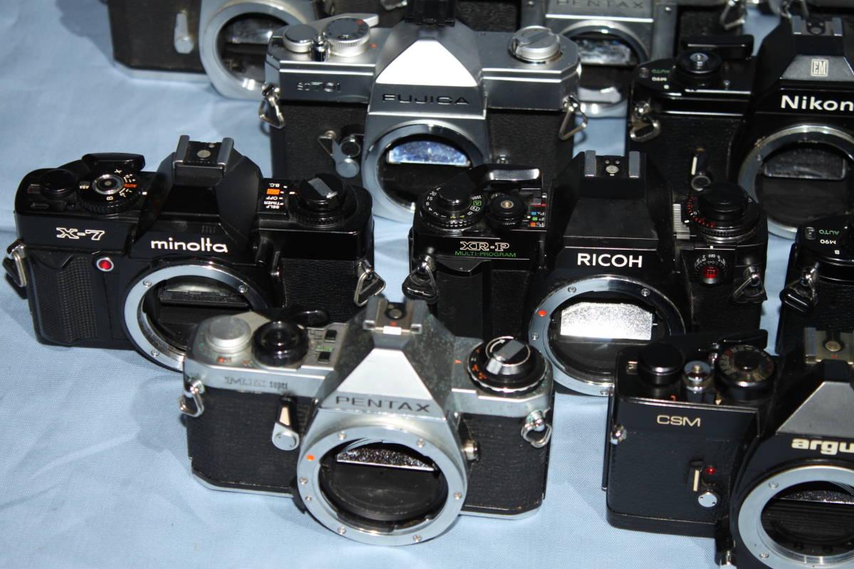 #F 動作未確認 一眼レフカメラなど ■Ricoh・Canon・Konica・Minolta など20台以上■JUNK 現状出品_画像8