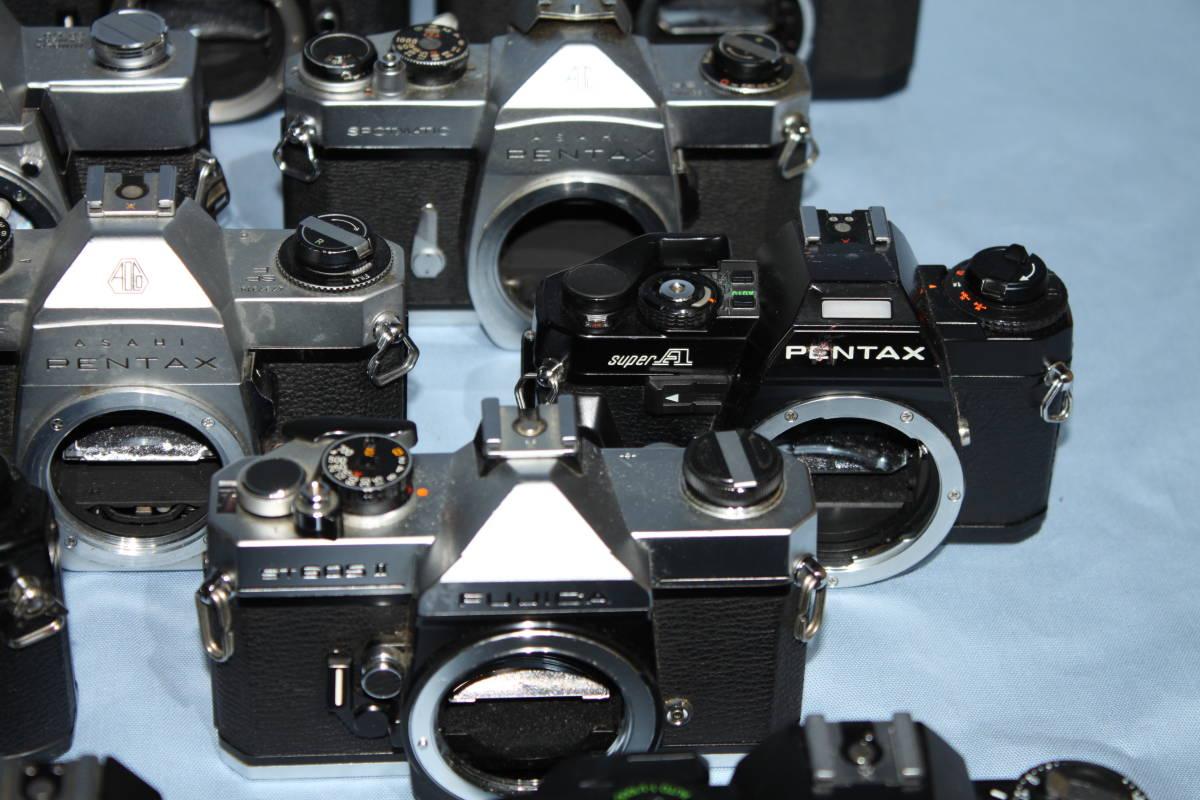 #F 動作未確認 一眼レフカメラなど ■Ricoh・Canon・Konica・Minolta など20台以上■JUNK 現状出品_画像7