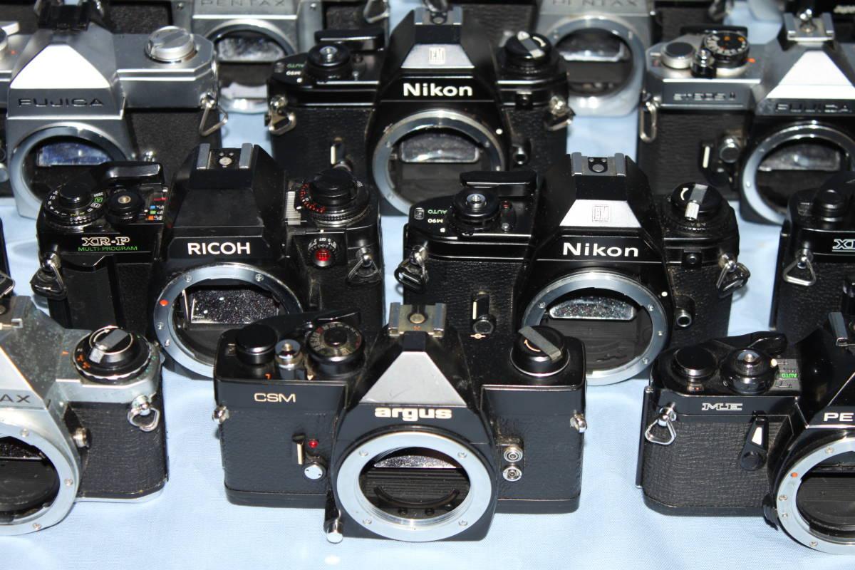 #F 動作未確認 一眼レフカメラなど ■Ricoh・Canon・Konica・Minolta など20台以上■JUNK 現状出品_画像9