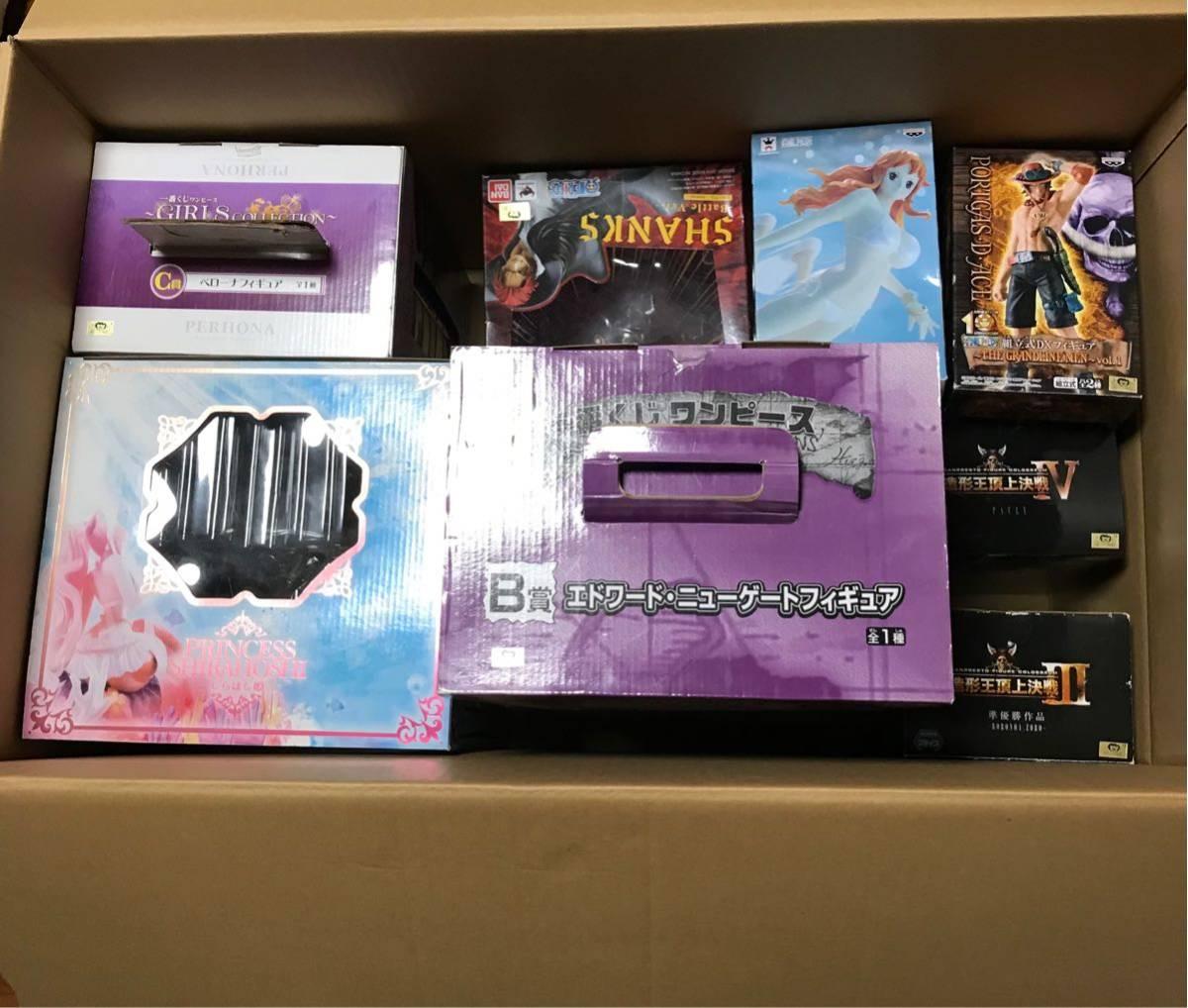 【空箱】ワンピース フィギュア 12箱 まとめ 造形 一番くじ フィギュアーツ P.O.P 他 検 ONE PIECE POP_画像2