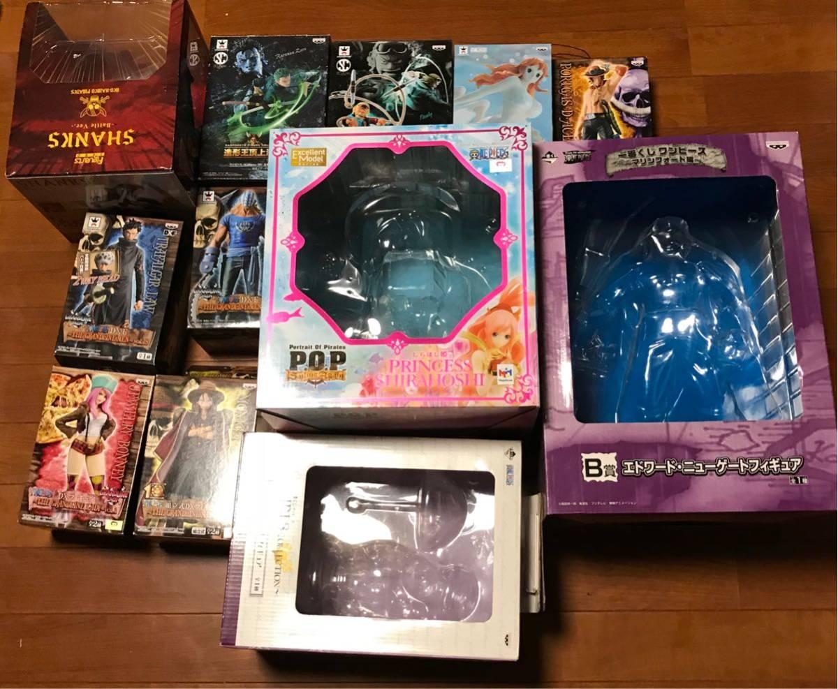 【空箱】ワンピース フィギュア 12箱 まとめ 造形 一番くじ フィギュアーツ P.O.P 他 検 ONE PIECE POP