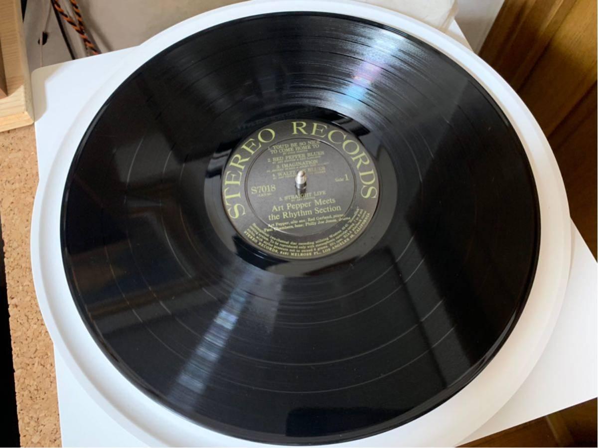 オリジナルステレオ盤Art Pepper/meets The Rhythm Section _画像3