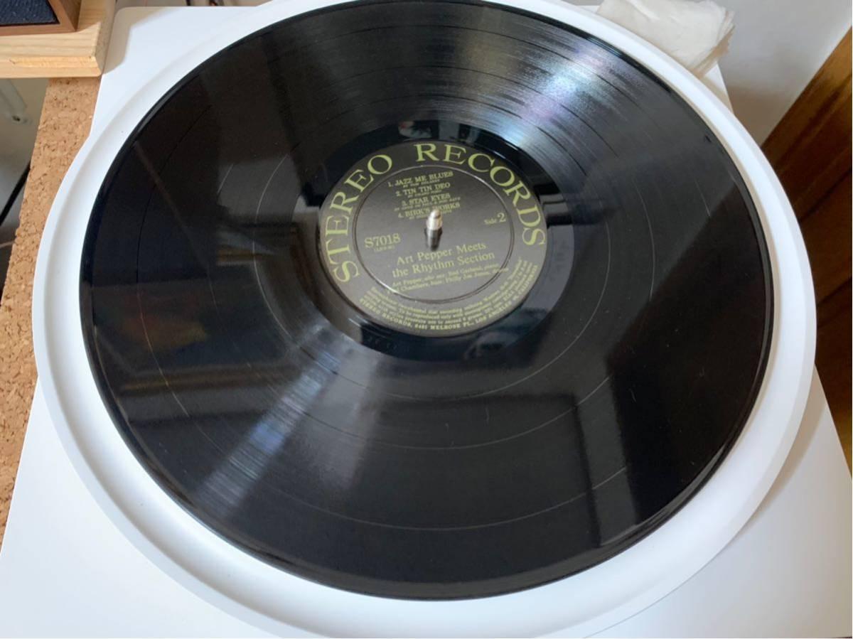 オリジナルステレオ盤Art Pepper/meets The Rhythm Section _画像5