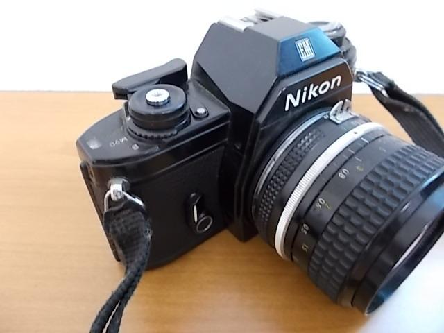 ニコン NIKON EM NIKKOR 28mm 1:3.5 動作未確認_画像4