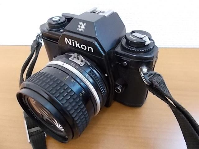 ニコン NIKON EM NIKKOR 28mm 1:3.5 動作未確認_画像3