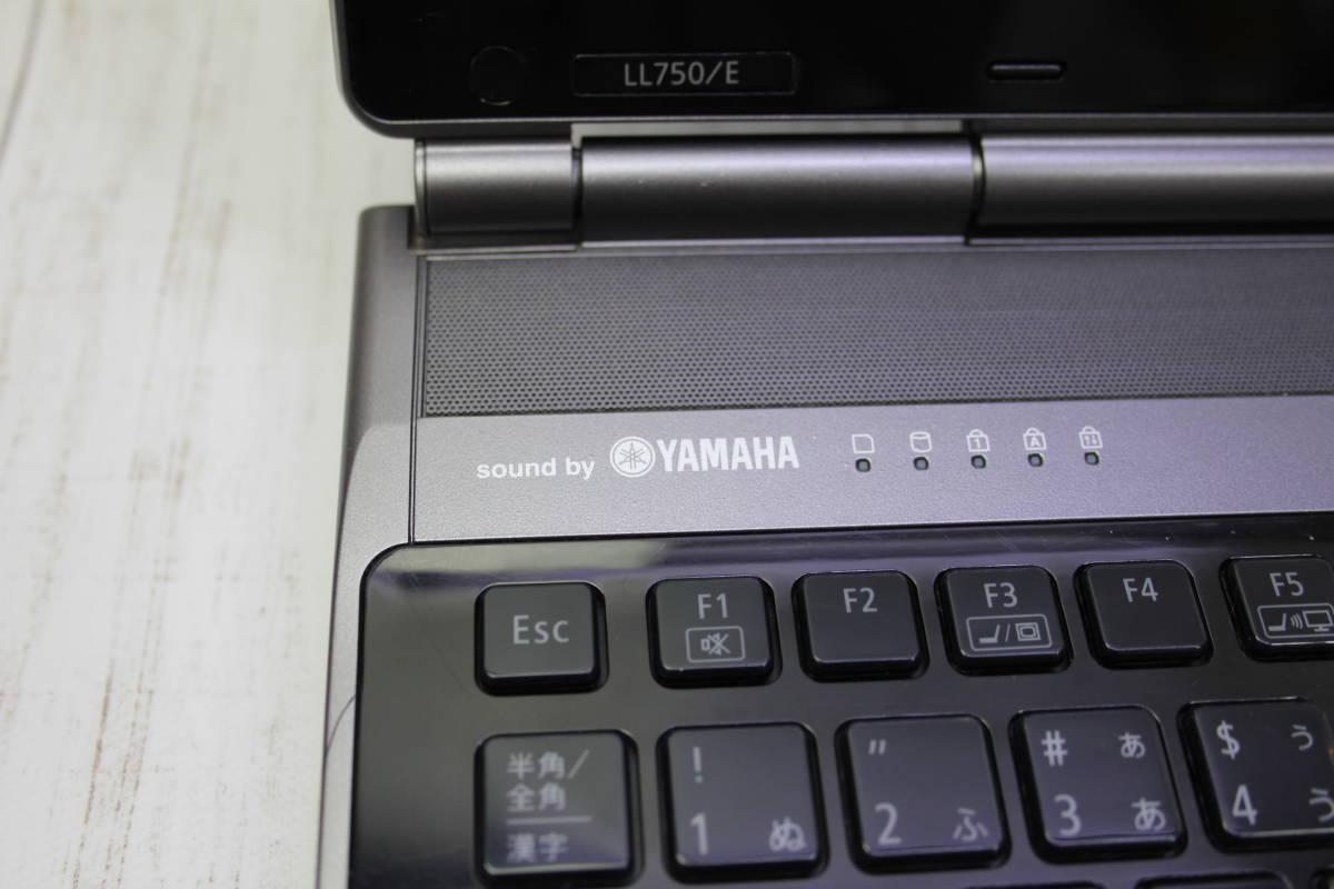 ★高速Core-i7★爆速新品 SSD512GB★ NEC LaVie LL750/E 最新Windows10・メモリ容量8GB・Office・スピーカー高音質YAMAHA型_画像4