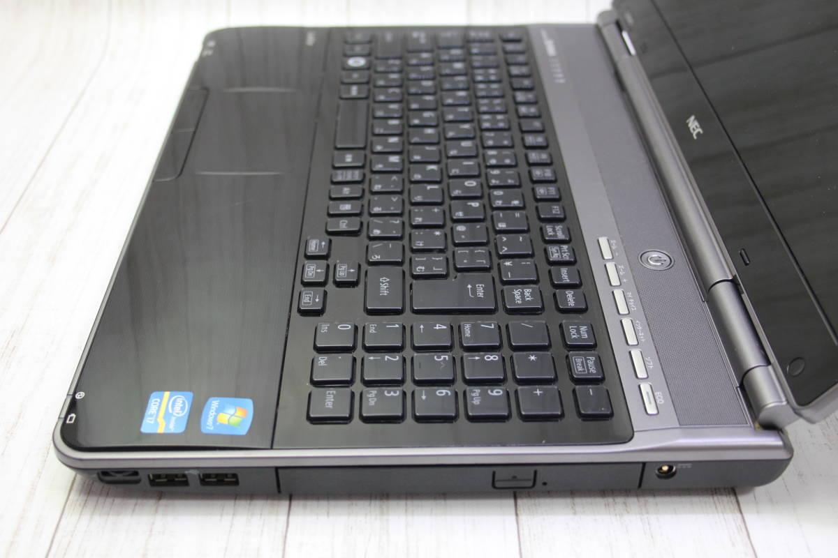 ★高速Core-i7★爆速新品 SSD512GB★ NEC LaVie LL750/E 最新Windows10・メモリ容量8GB・Office・スピーカー高音質YAMAHA型_画像5