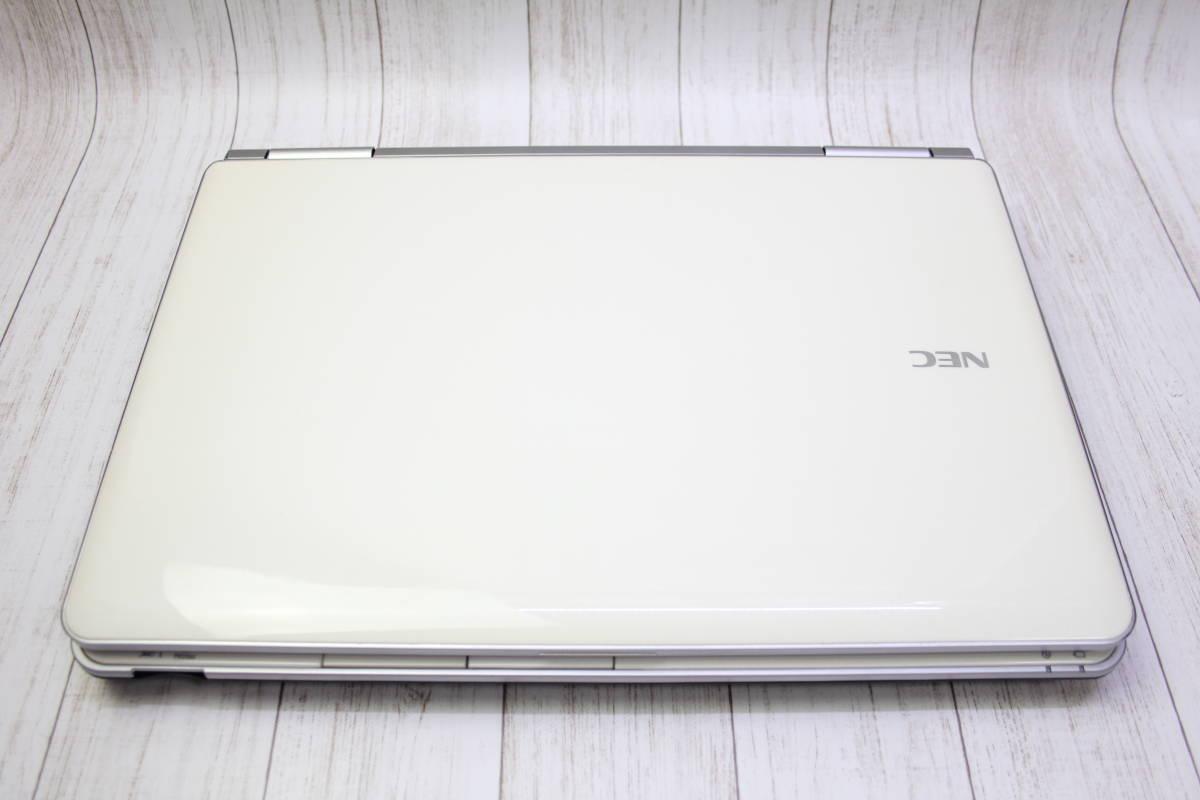 ★高速Core-i7★爆速新品SSD512GB★ NEC LaVie LL750/F 最新Windows10・メモリ容量8GB・Office・スピーカー高音質YAMAHA型_画像2