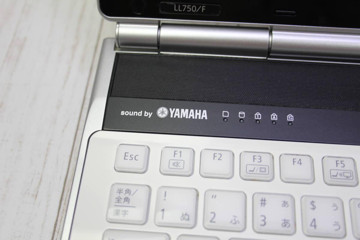 ★高速Core-i7★爆速新品SSD512GB★ NEC LaVie LL750/F 最新Windows10・メモリ容量8GB・Office・スピーカー高音質YAMAHA型_画像4