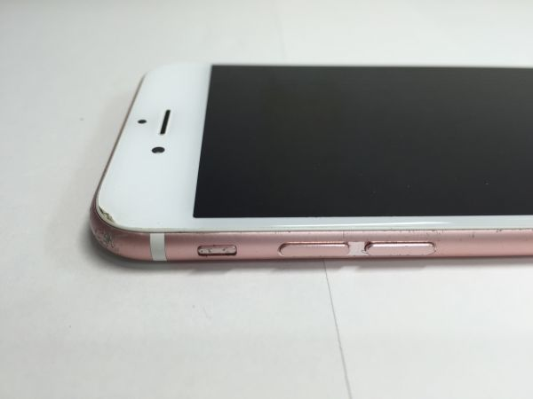 Apple iPhone 6S 16GB SIMロック解除済 ローズゴールド docomo MKQK2J/A 利用制限〇_画像4