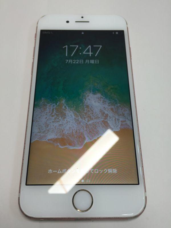 Apple iPhone 6S 16GB SIMロック解除済 ローズゴールド docomo MKQK2J/A 利用制限〇