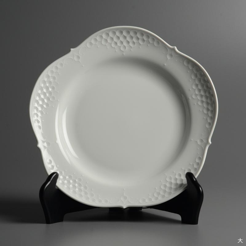 皿/プレート Meissen/マイセン Limoges/リモージュ ホワイトレリーフ 計5点(2種)まとめて 白 ルードヴィッヒ・ツェプナー ヴィンテージ_画像9