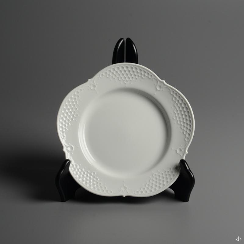 皿/プレート Meissen/マイセン Limoges/リモージュ ホワイトレリーフ 計5点(2種)まとめて 白 ルードヴィッヒ・ツェプナー ヴィンテージ_画像3