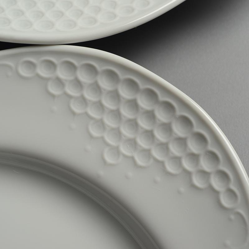 皿/プレート Meissen/マイセン Limoges/リモージュ ホワイトレリーフ 計5点(2種)まとめて 白 ルードヴィッヒ・ツェプナー ヴィンテージ_画像7